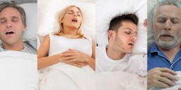 snoring men and women
